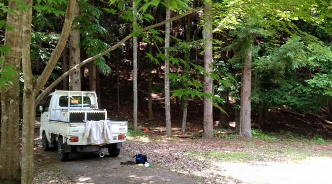 原木なめこ圃場整備